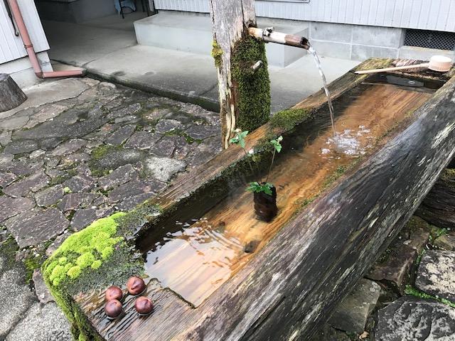 奈良県十津川村果無集落、熊野古道小辺路のおもてなしも秋です。