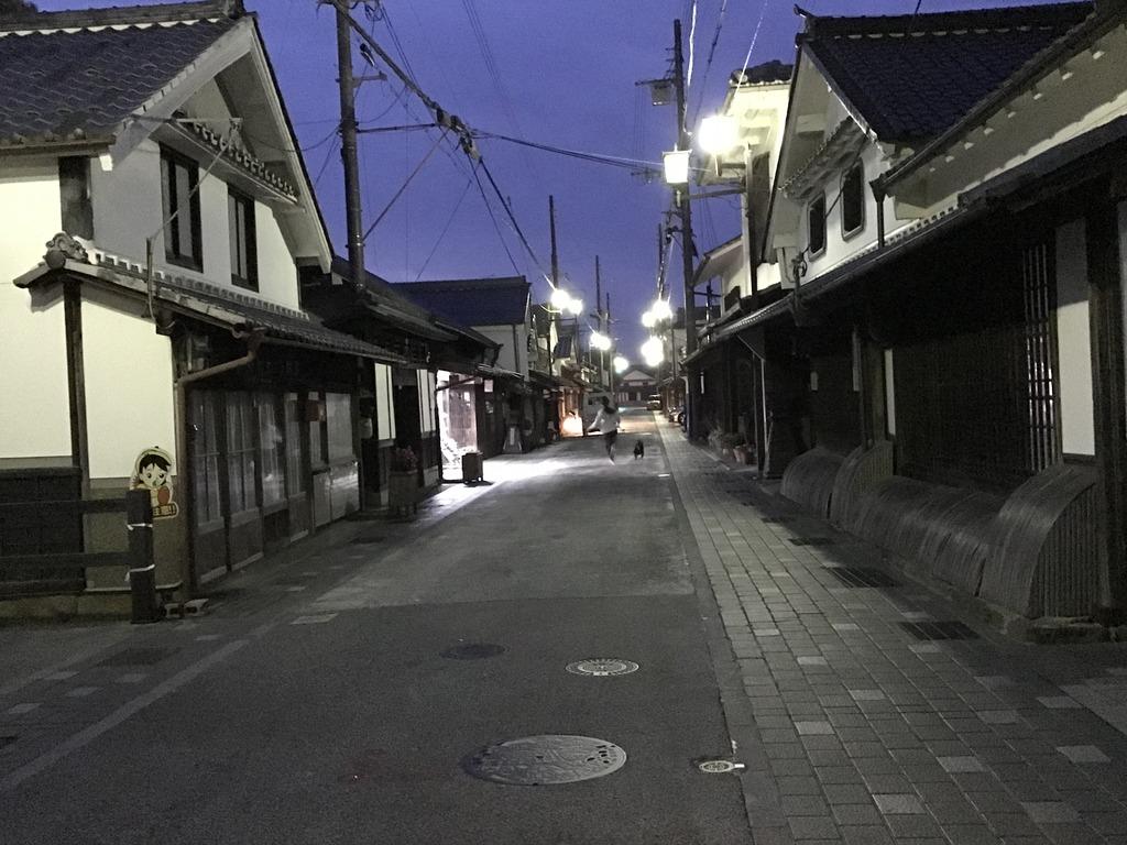 ■兵庫県篠山市「河原町妻入商家群」。江戸時代の町屋の風情が残ります。