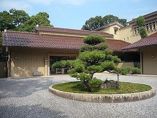 鳥取知事公邸庭