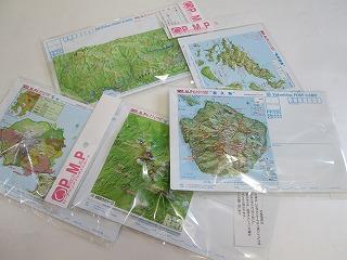鹿児島県鹿児島市「ピーチマップ3Dポストカード」