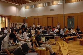 智頭分科会参加者たち