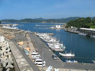岩美の田後漁港