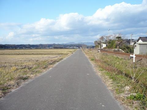掛川一本道