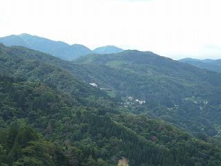 深い緑の中にある利賀村