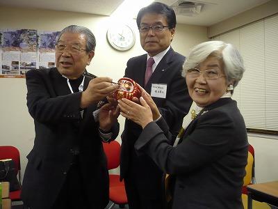 2011.1.18「さんか・さろん」川島ご夫妻金婚式のサプライズも。