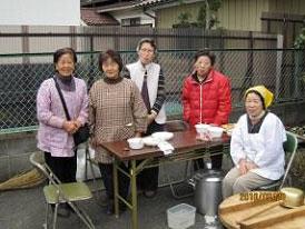 3月さんかさろん町田市小野路農家のお母さんたち。