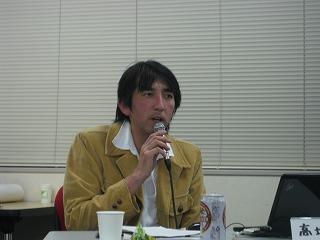 2011.4.19さんか・さろんで。高坂勝さん。