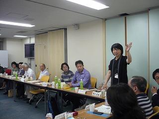 2011.6.21「さんか・さろん」富山県高岡市からの参加者も。