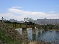 八頭町を走る若狭鉄道