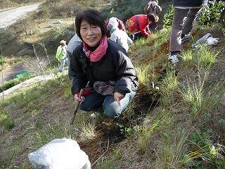 重田益美さん(環境まちづくりNPOエコメッセ理事長)足尾銅山で