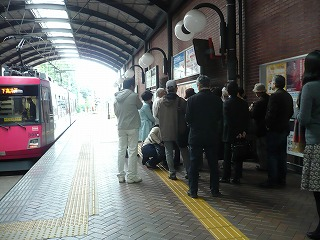 さんか・さろん2011・11・15世田谷線でゆっくりまち歩き