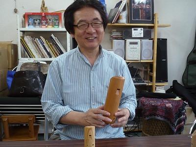 コカリナ演奏家 黒坂黒太郎さん