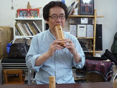 コカリナ演奏家 黒坂黒太郎